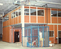 Modular Two Story Office - View A