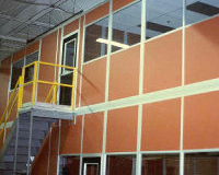 Modular Two Story Office - View B
