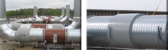 Exhaust Fan Noise: Neighborhood and Facility Interior